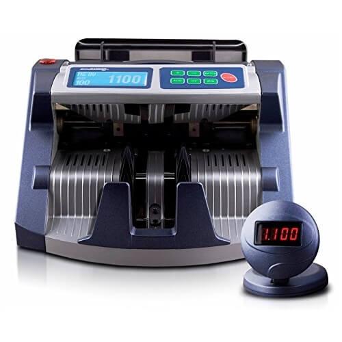 1-AccuBANKER AB 1100 PLUS UV/MG compteuse de billets