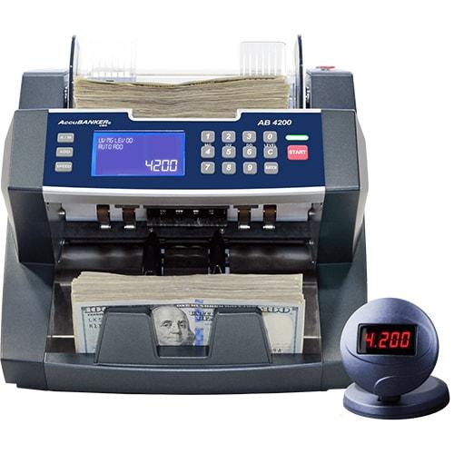 1-AccuBANKER AB 4200 UV/MG compteuse de billets
