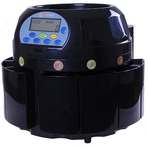 2-Cashtech 420 EURO compteuse de pièces