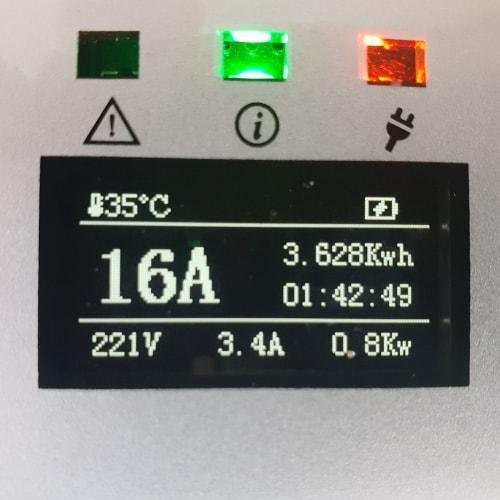 3-EV EVSE Type2 (max. 16A) Câble de recharge véhicule électrique