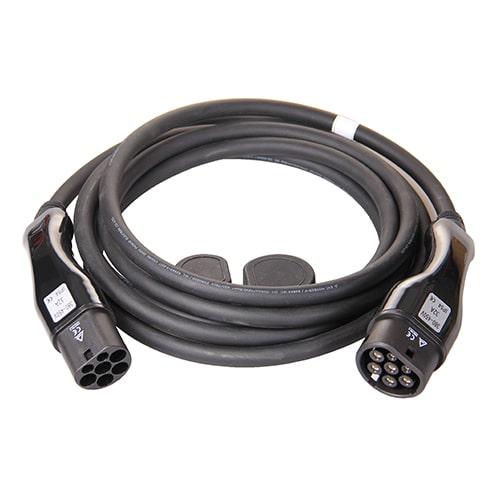 1-EV Type2 -> Type2 (32A) Câble de recharge véhicule électrique
