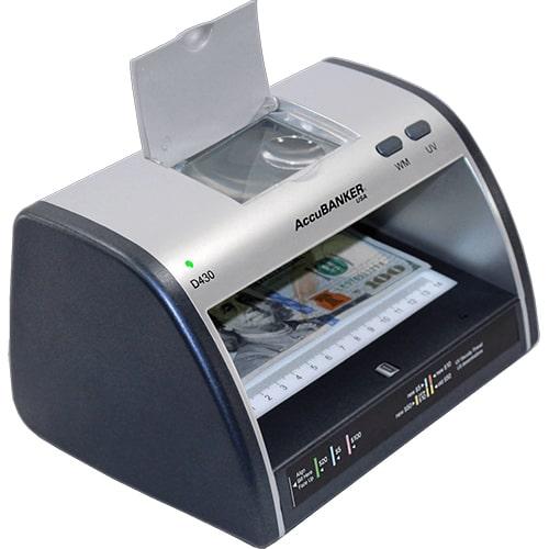 2-AccuBANKER LED430 Détecteur de faux billets