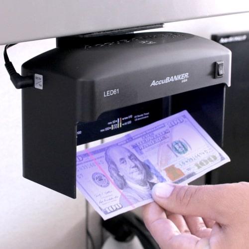 2-AccuBANKER LED61 Détecteur de faux billets